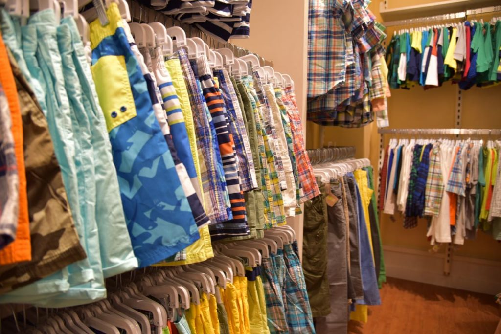Kids clothes at West Covina Mall
