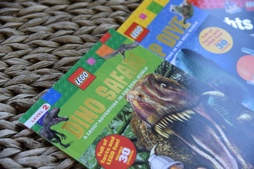 LEGO and Scholastic series