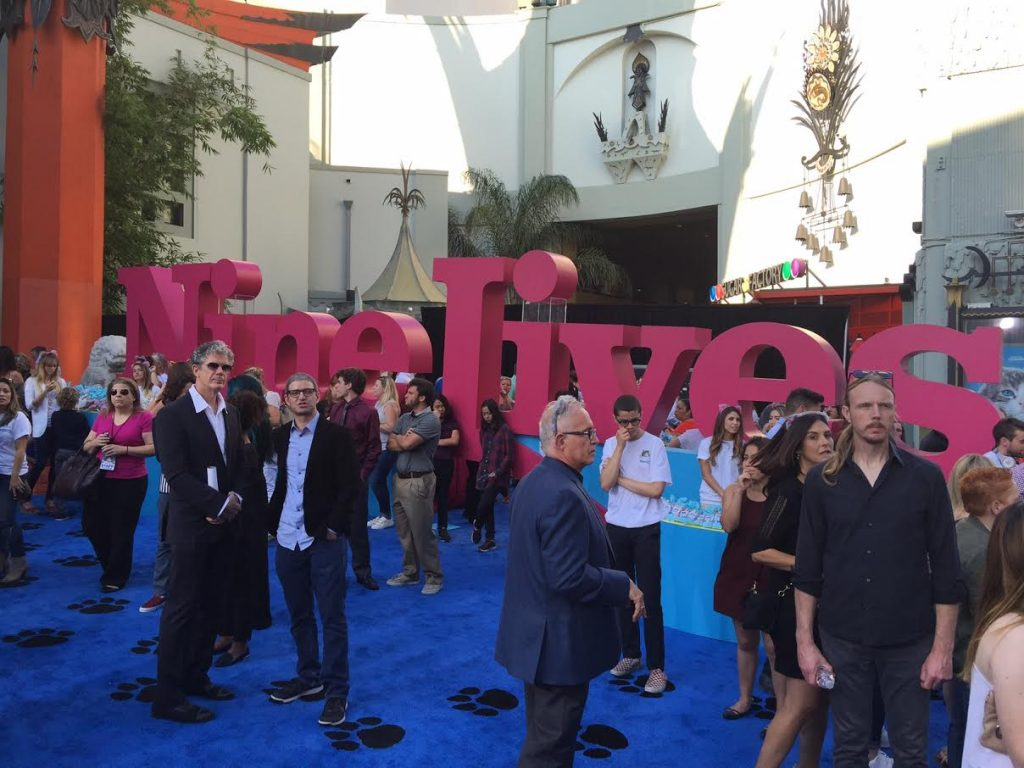 Nine Lives Movie Debut in Hollywood