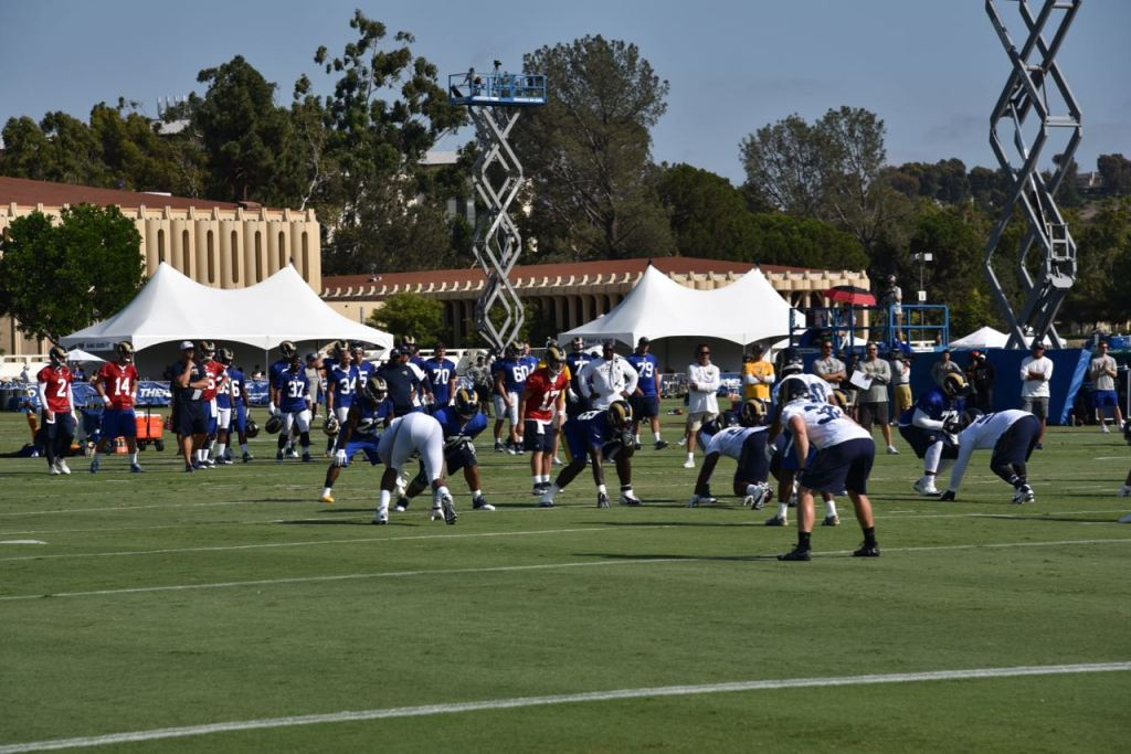 Rams Training at UCI