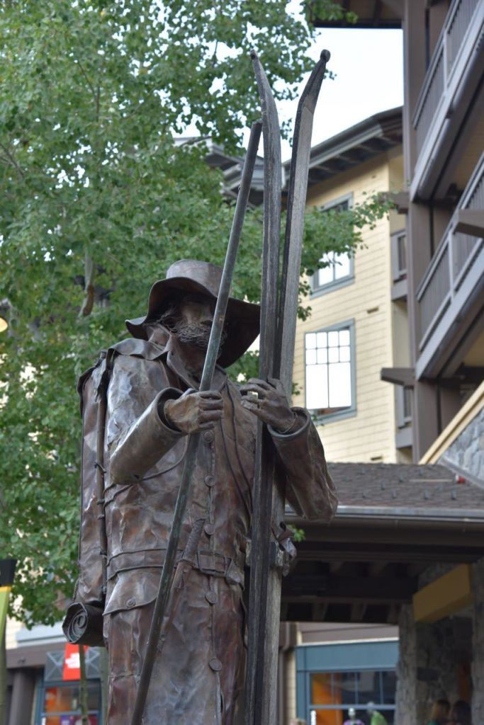 Statue in Squaw Village