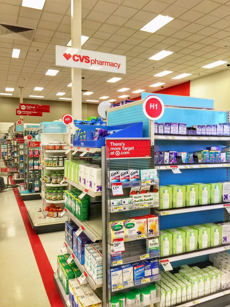 Using the CVS Pharmacy in Target