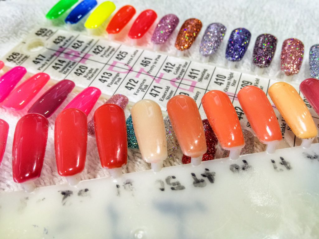 Gel Manicure colors