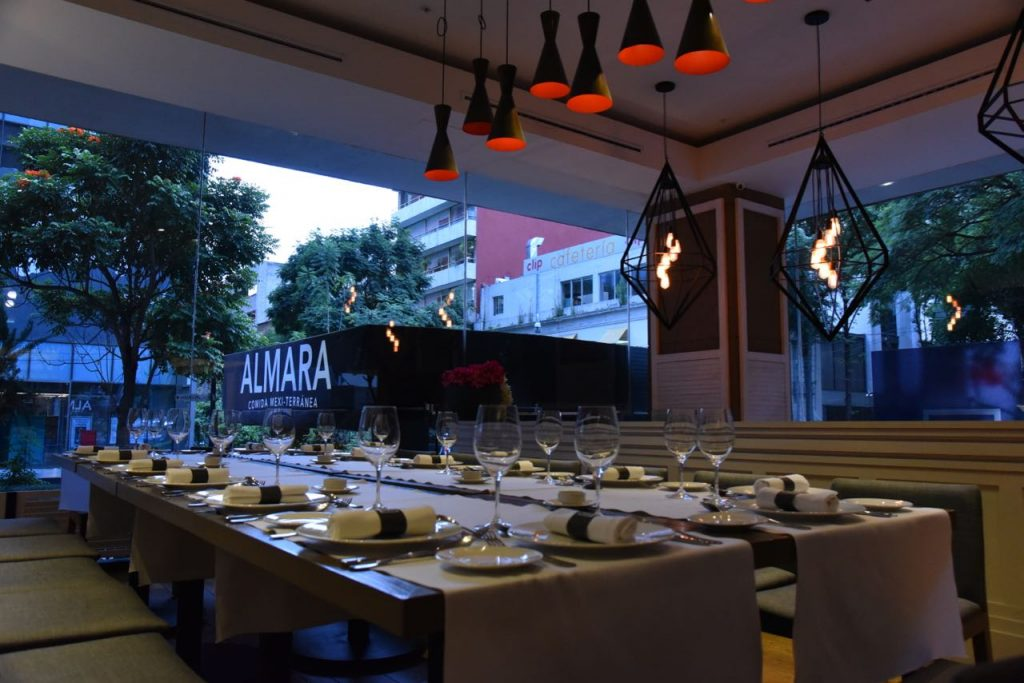 Dining at Almara