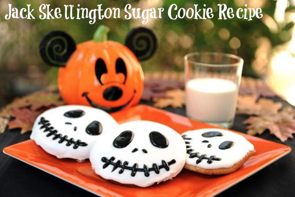 DIY Jack Skellington Sugar Cookie Recipe