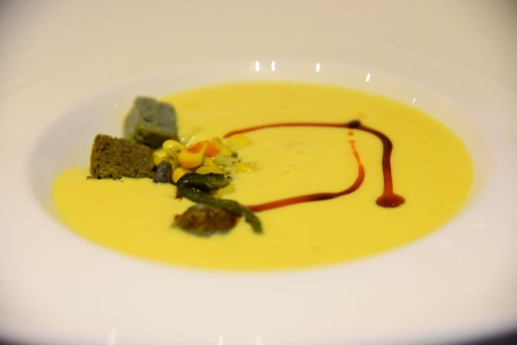 Soup at Almara restaurant