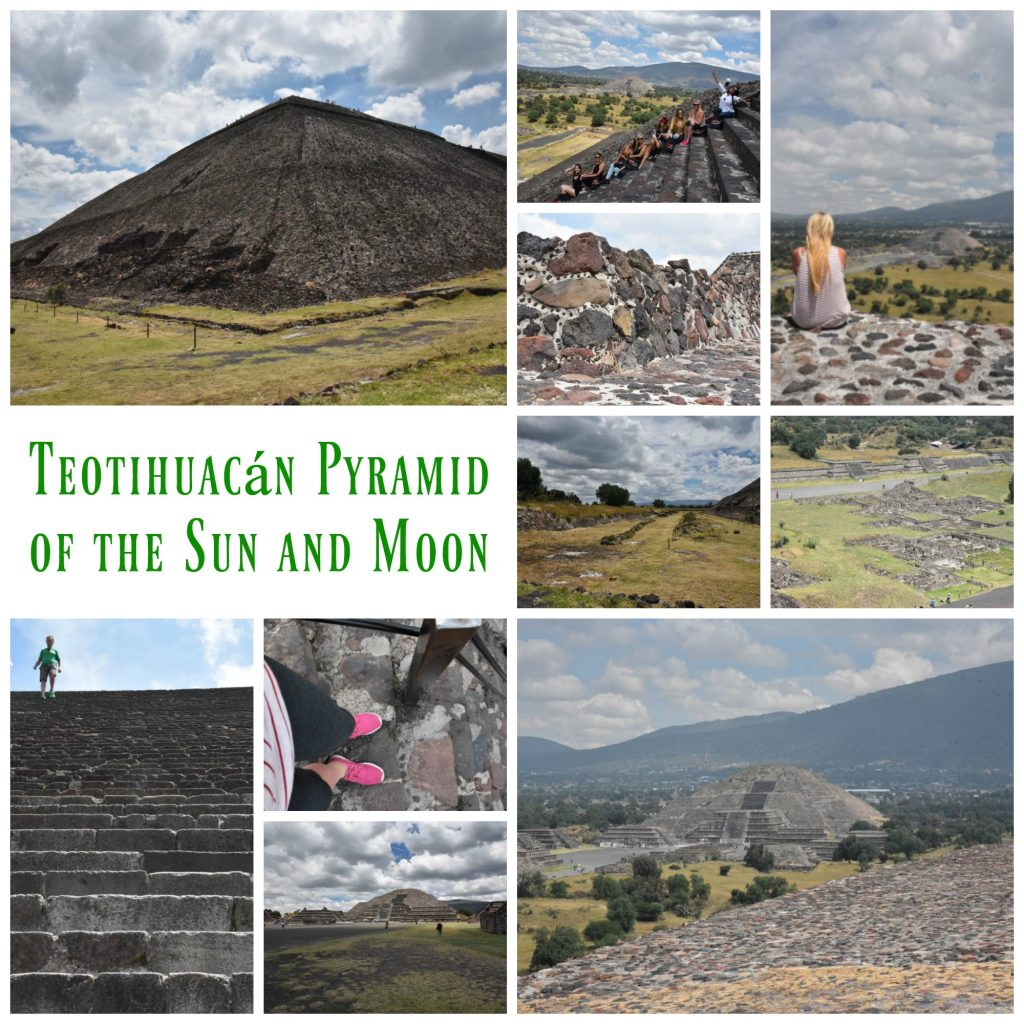 Teotihuacan Pyramid of the Sun and Moon