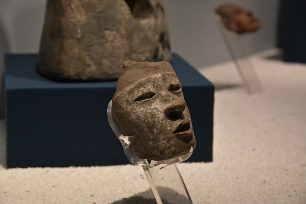 Death Mask in Teotihuacan