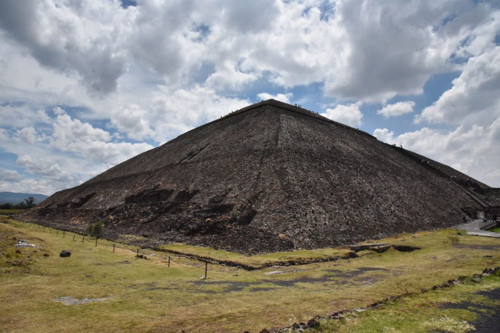Pyramid in Teotihuacan