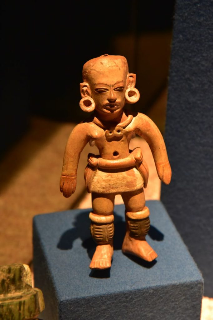 Sculpture of a Man in Teotihuacan