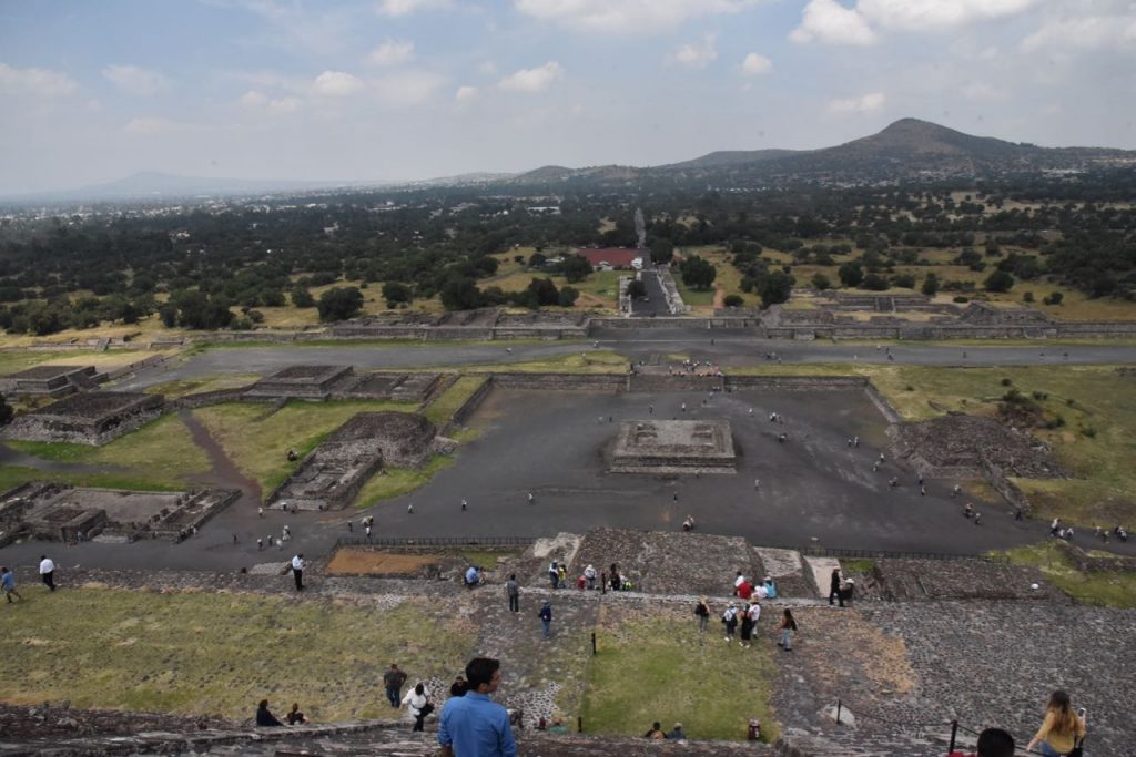 The Beautiful City of Teotihuacan