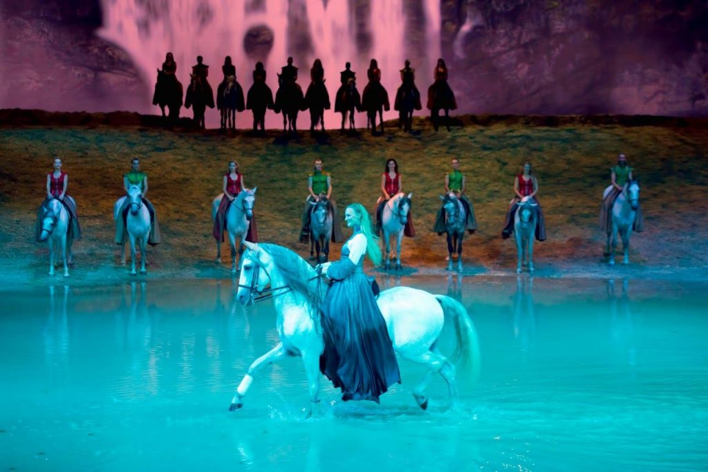 The magic of Odysseo by Cavalia