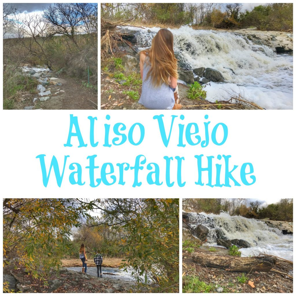Aliso Viejo Waterfall Hike in Aliso Woods Canyon Park