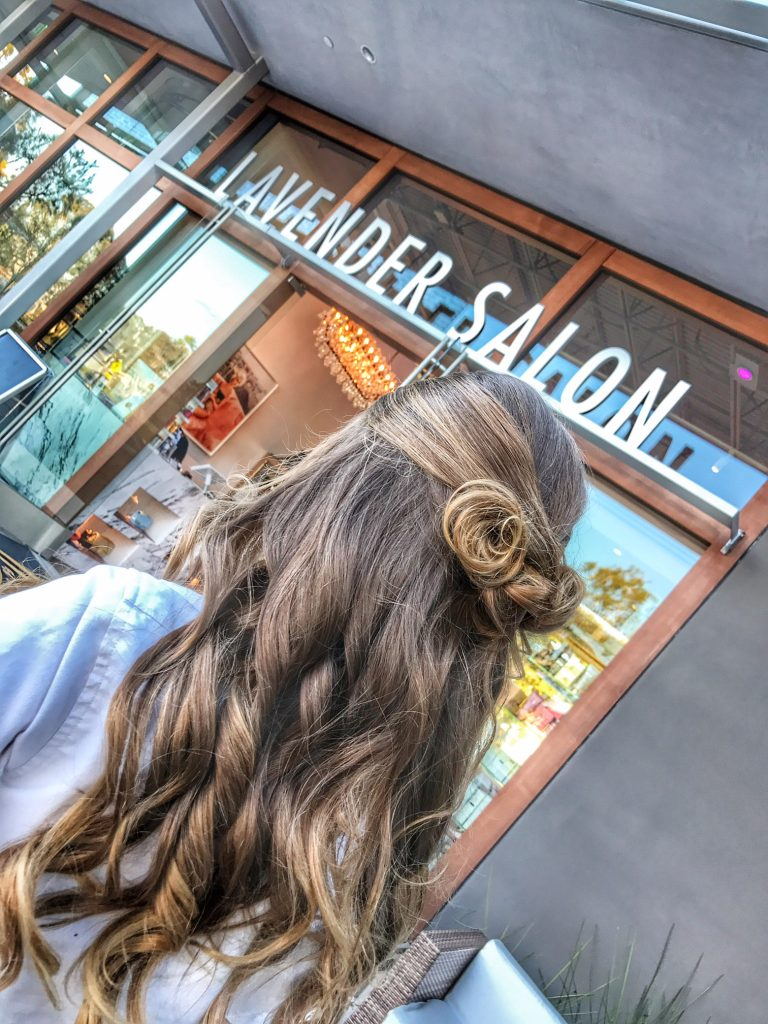 Best Blowdry at Lavender Salon in Newport Beach