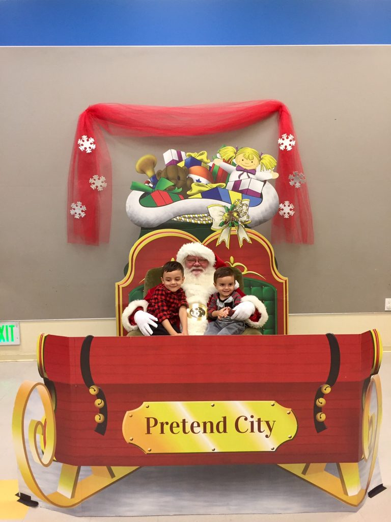 Breakfast with Santa at Pretend City
