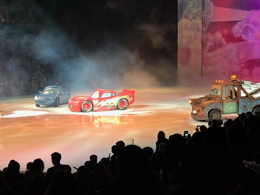 Cars at Disney on Ice Worlds of Enchantment