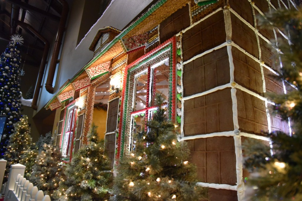 Dine inside a life-size Gingerbread House