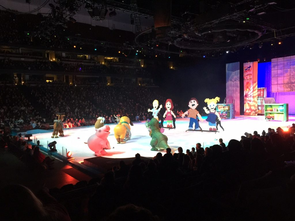 Disney's Toy Story in Disney on Ice Worlds of Enchantment