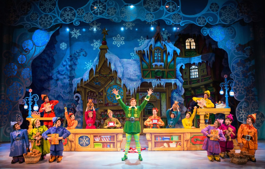Elf the Musical at the Segerstrom Center for the Arts