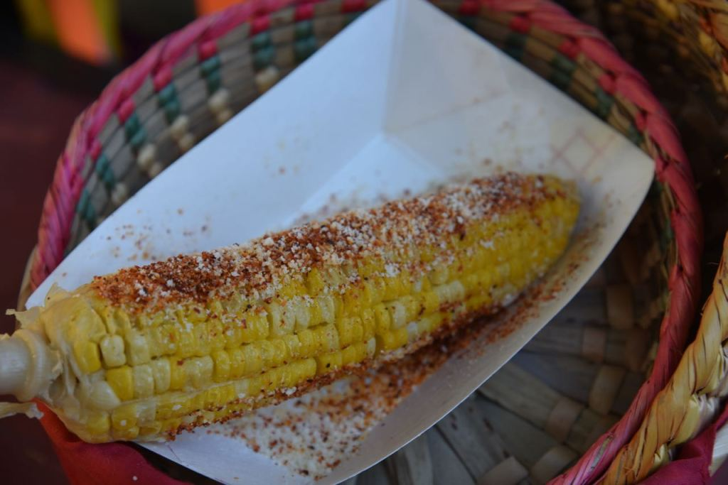 Elote at Disney's Festival of Holidays