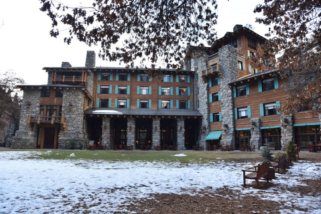Front of the Majestic Yosemite Hotel