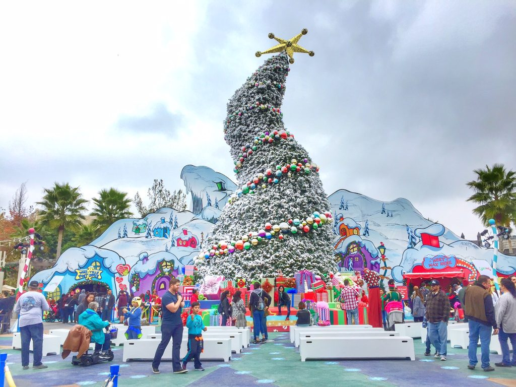 Grinchmas at Universal Studios Hollywood