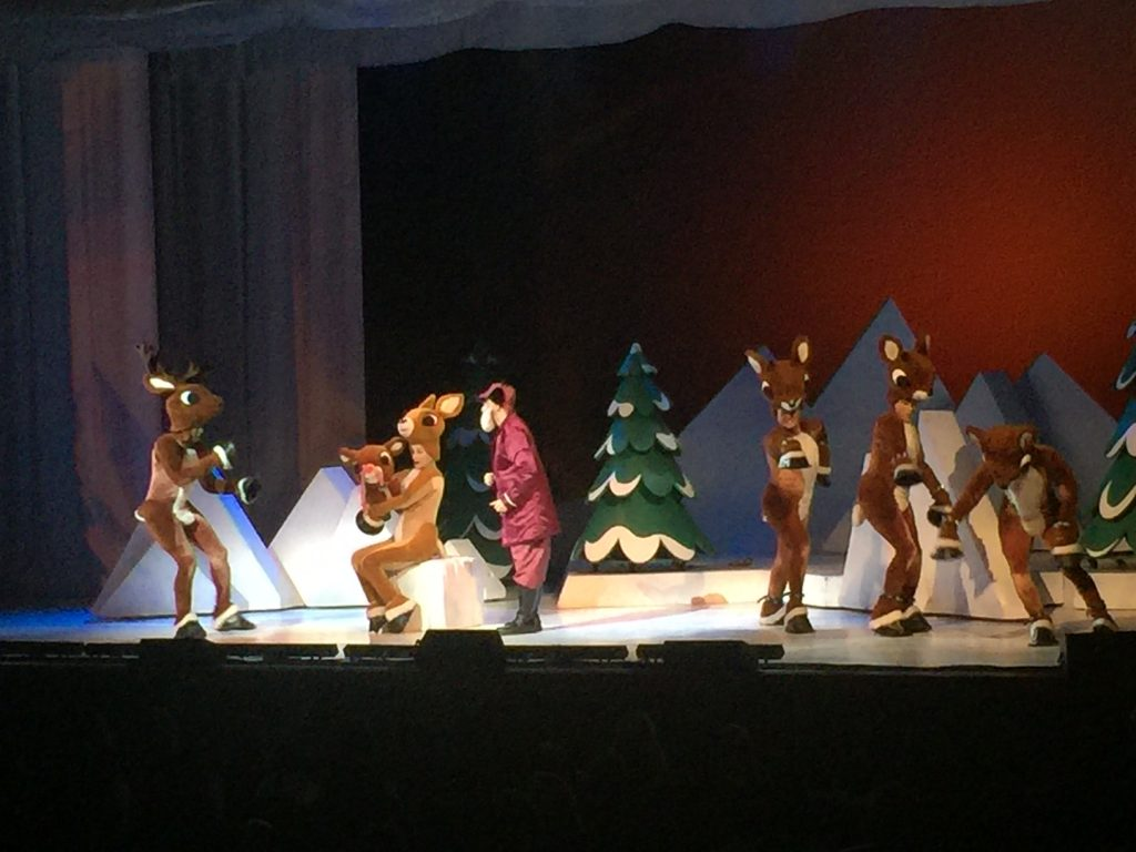 Kids adore Rudolph the Red-Nosed Reindeer the Musical