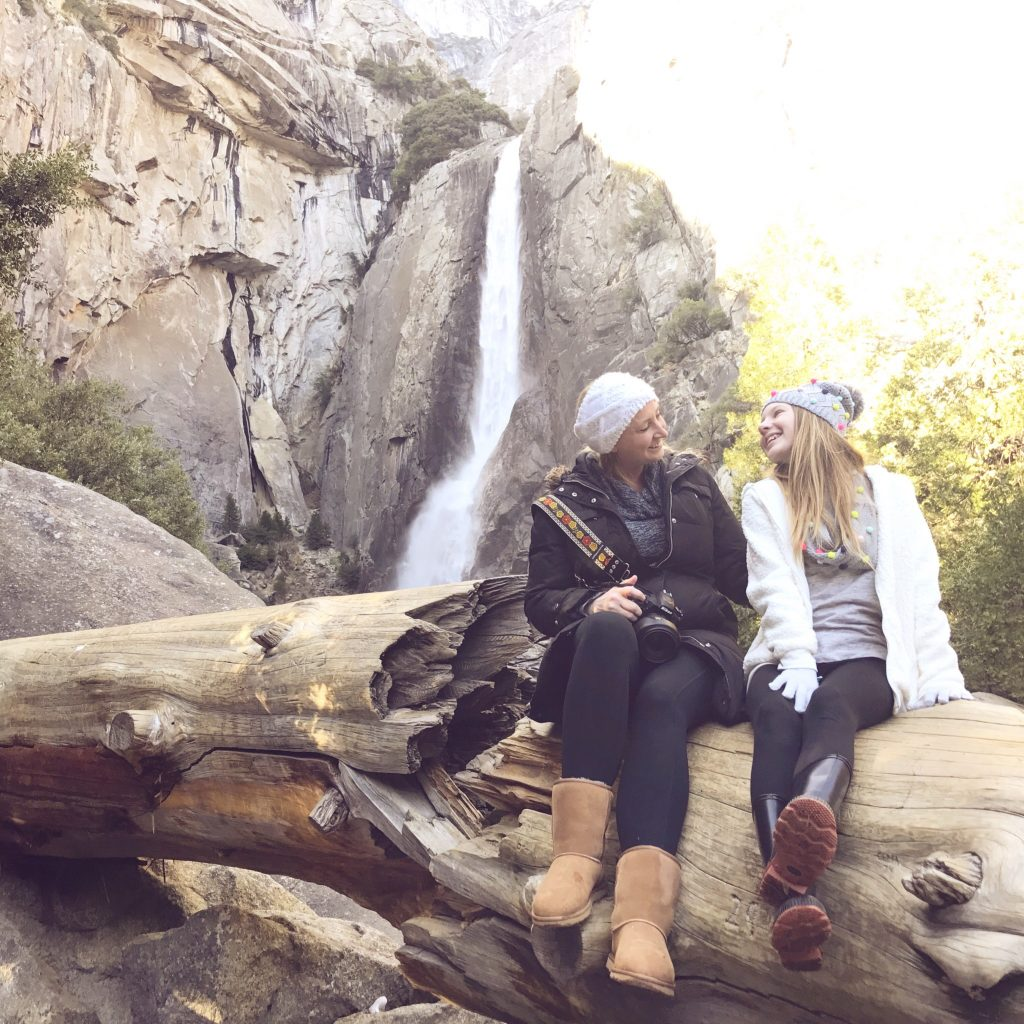 Mother and Daughter Exploring Yosemite
