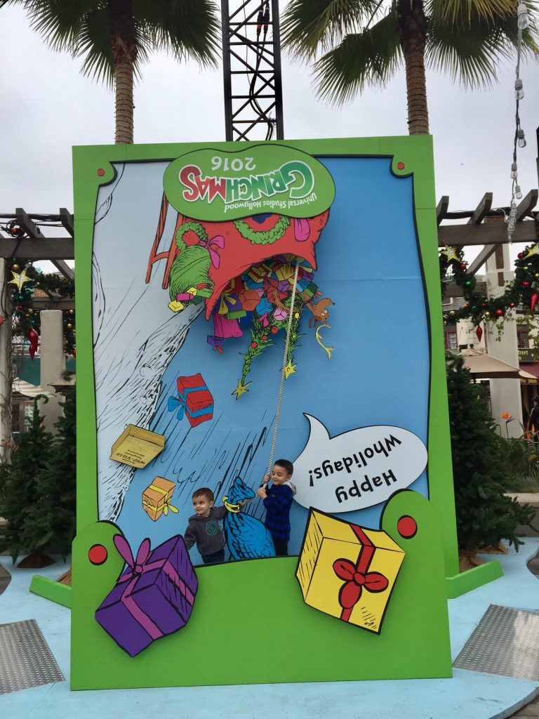 Photo opportunities at Universal Studios Hollywood