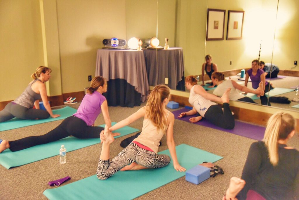 Yoga at Tenaya Lodge