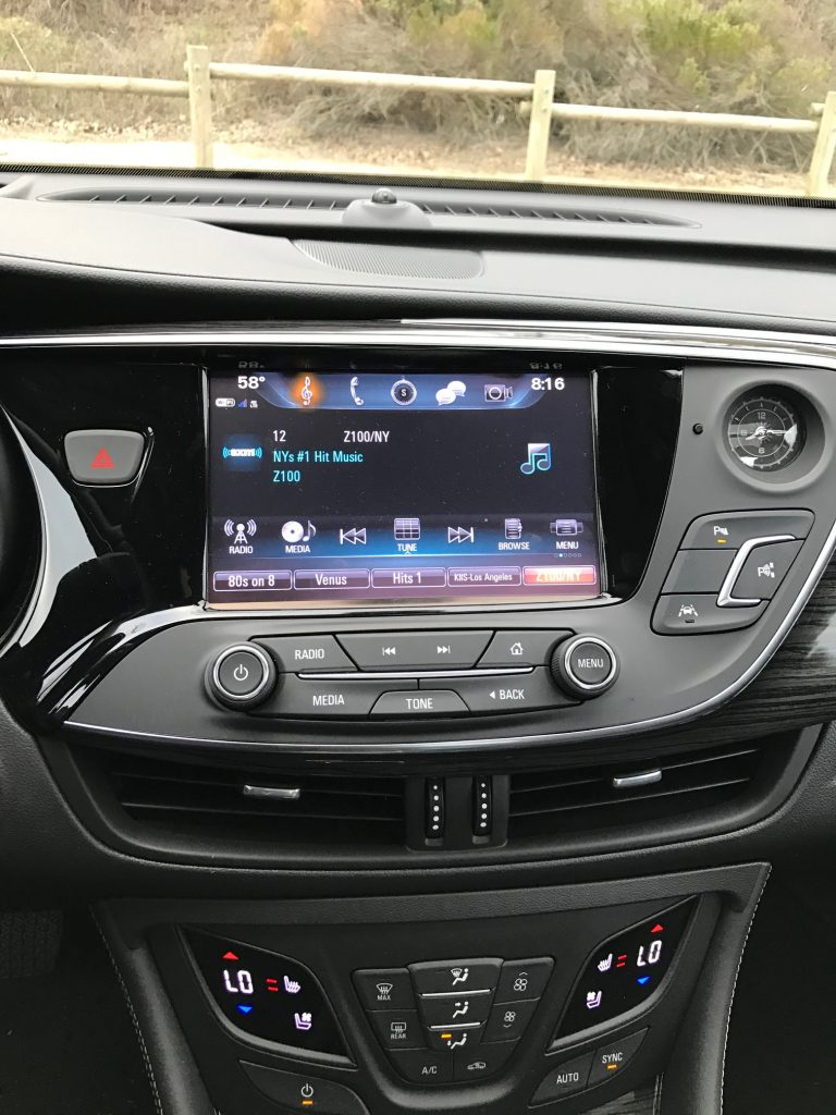 Buick Envision Radio
