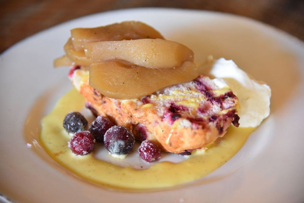 Cranberry Sponge Cake at The Farmhouse at Rogers Gardens