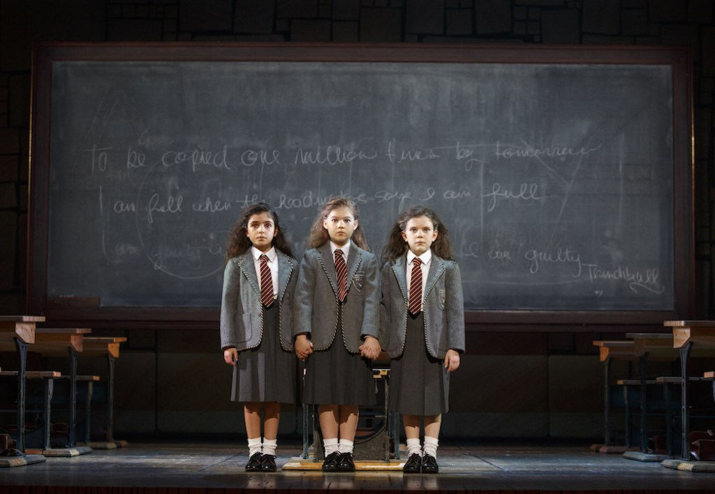 Matilda the Musical at the Segerstrom Center for the Arts