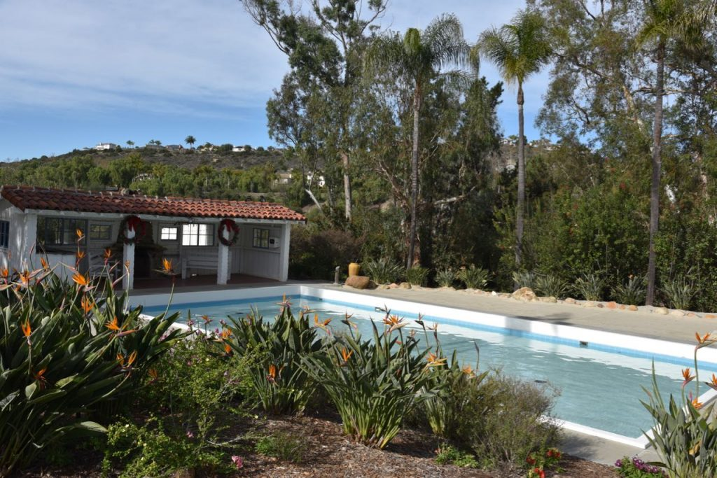 Swimming pool at Leo Carrillo Ranch