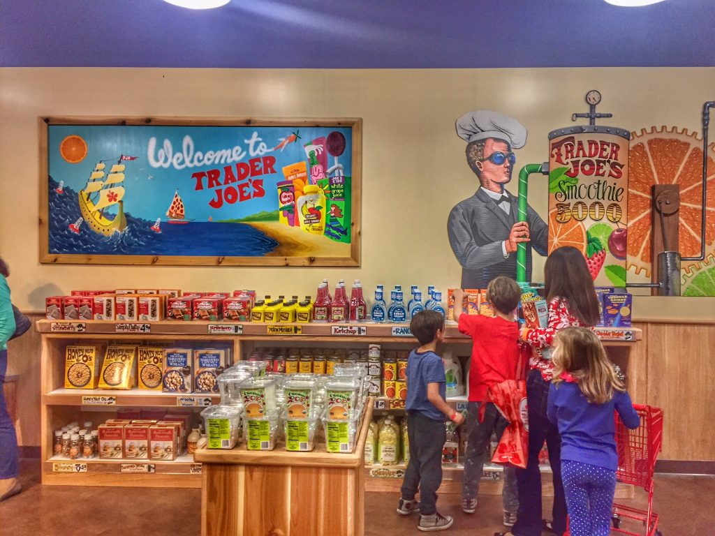 Welcome to the Pretend City Trader Joe's
