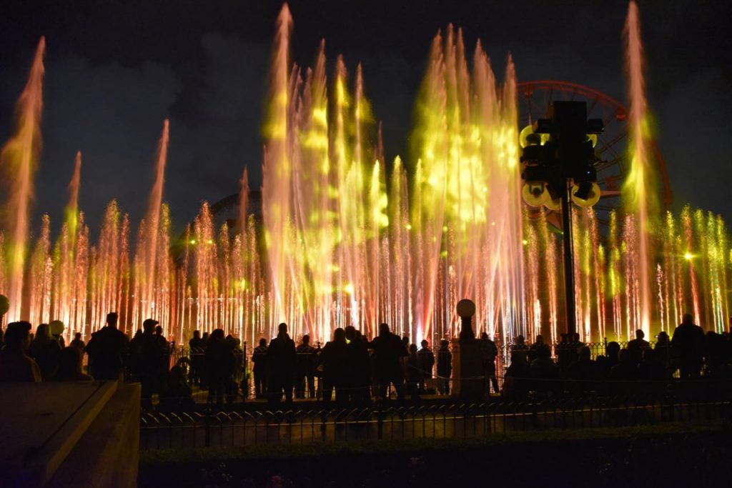 World of Color during the Lunar New Year Celebration at Disney California Adventure Park