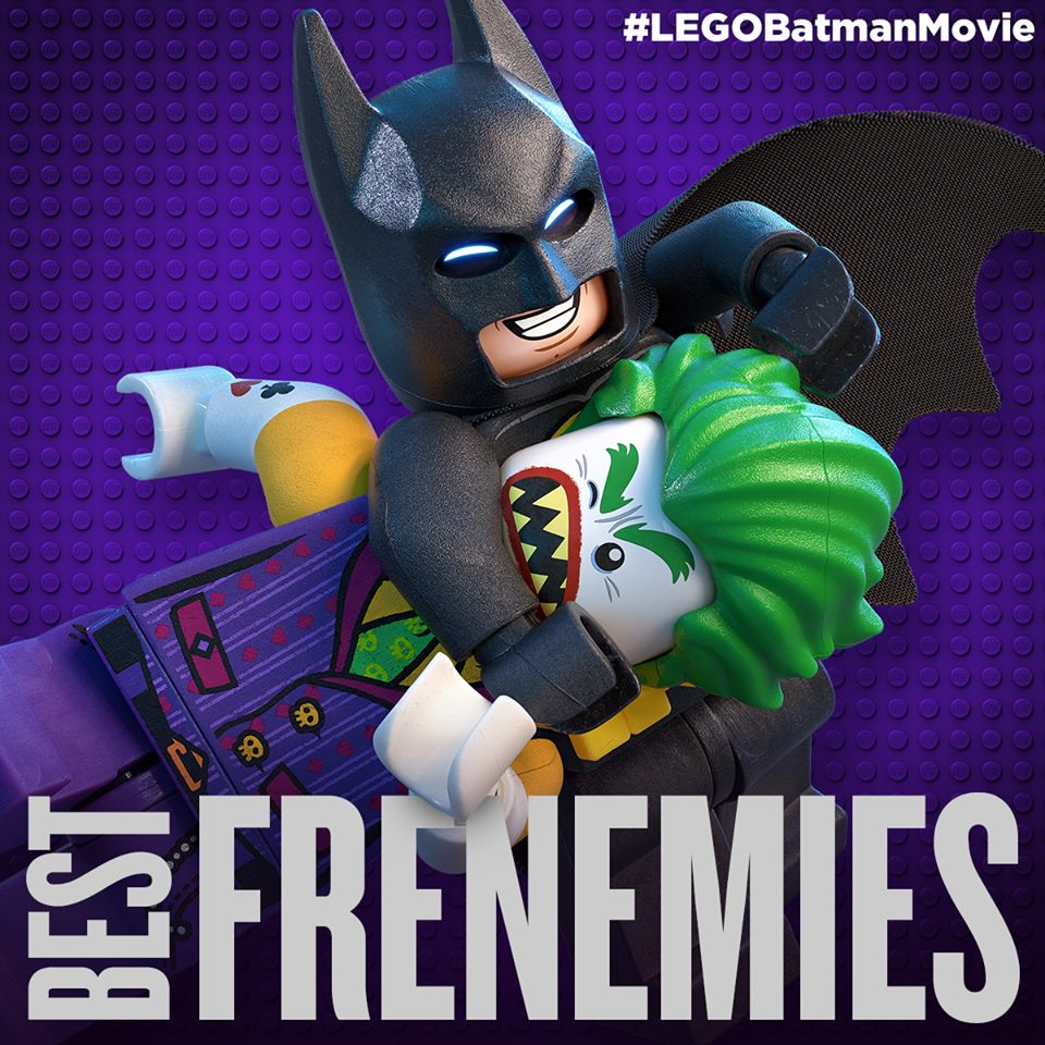 Batman and the Joker in The Lego Batman Movie