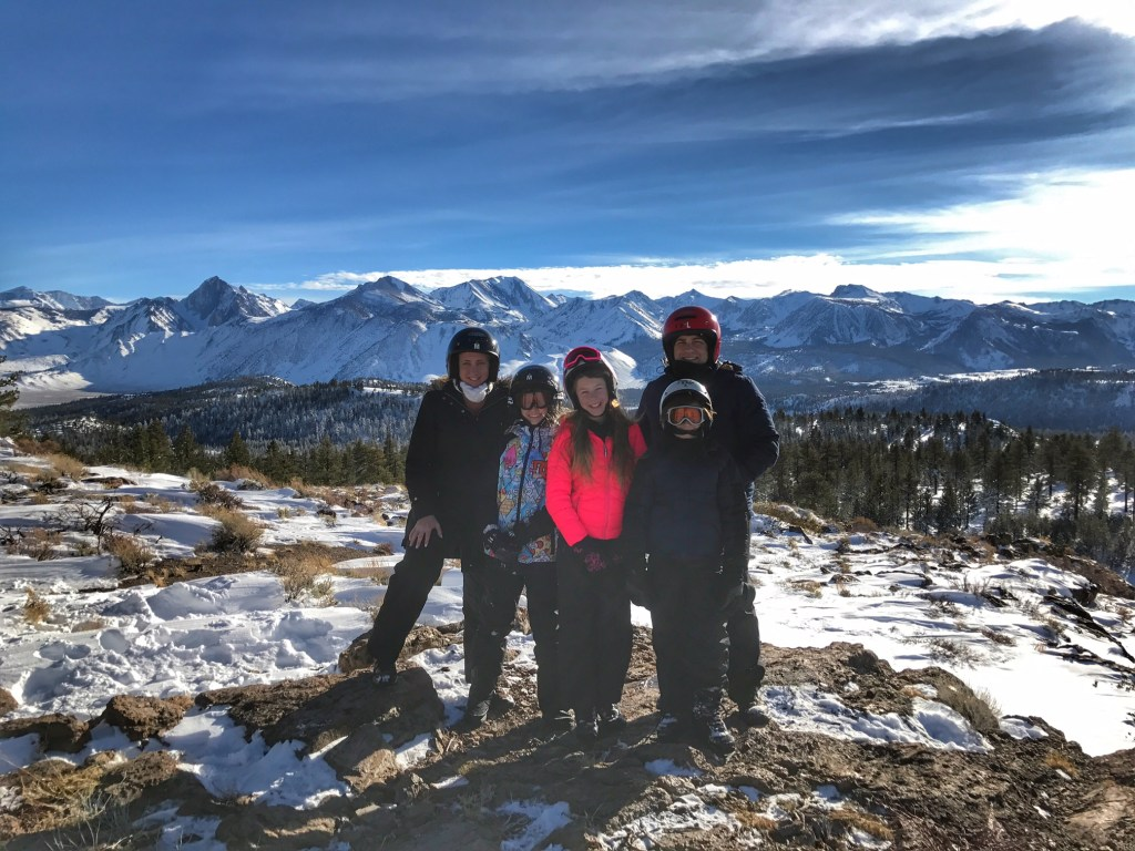 Family Fun Snowmobile Riding in Mammoth
