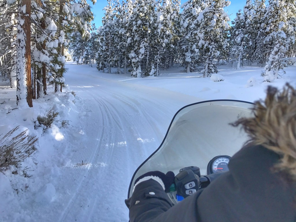 Mammoth Snowmobile Adventure