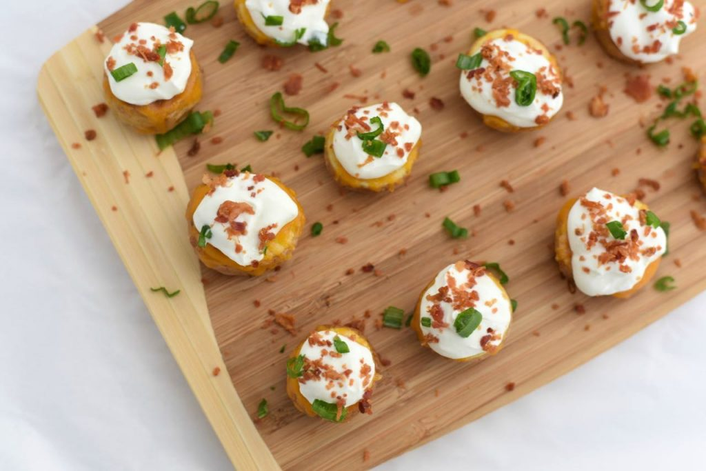 Mini Baked Potato Bites