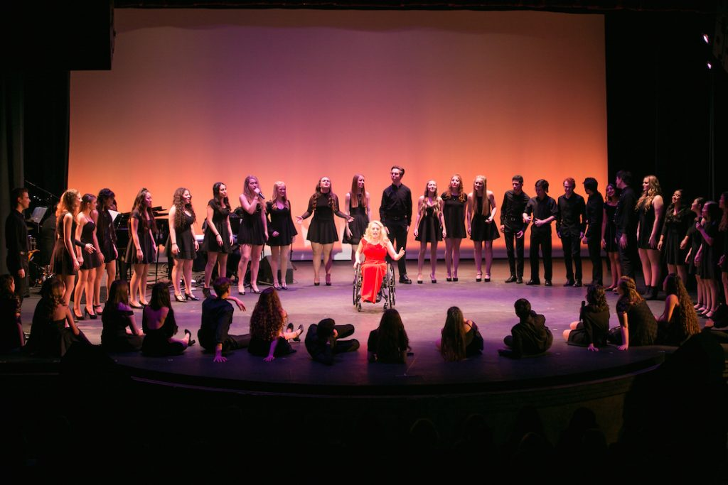 Musical Theatre Performing with the Pros at OCSA