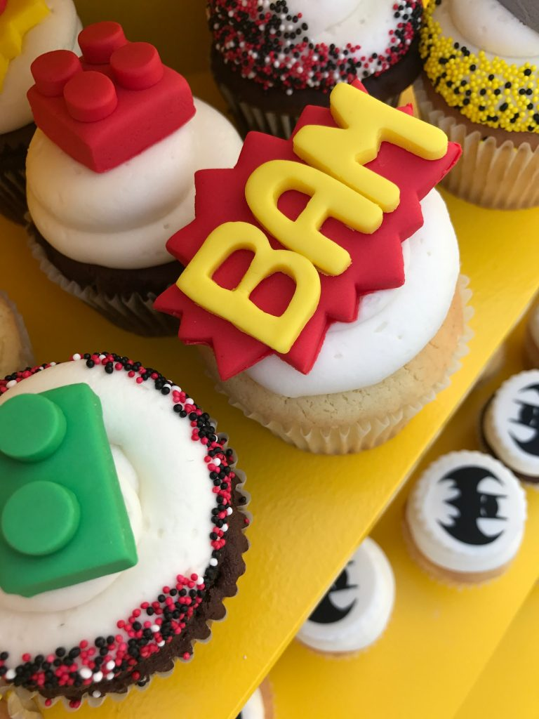 The Lego Batman Movie Premiere Cupcakes