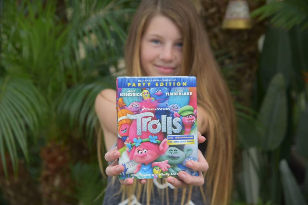 Trolls DVD and Blu-ray