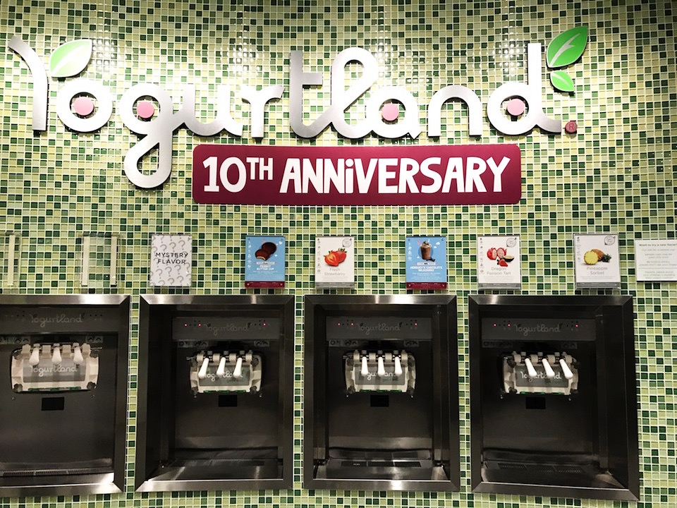 Yogurtland 10th Anniversary