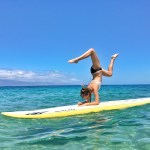 Stand Up Paddle Board Lesson at Hale Huakaʻi