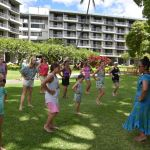 Hula Lessons at the Ka'anapali Beach Hotel