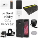 10 Great Holiday Gifts Under $50