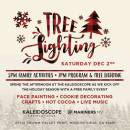 Kaleidoscope Celebrates the Season with Community Tree Lighting