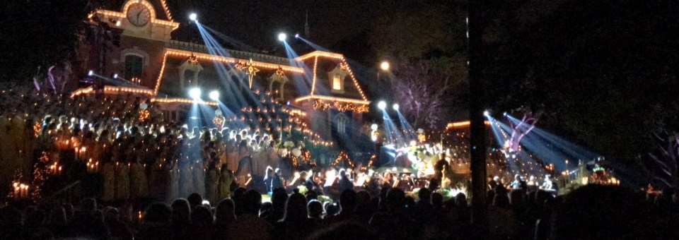 The Magic of the Disneyland Candlelight Ceremony