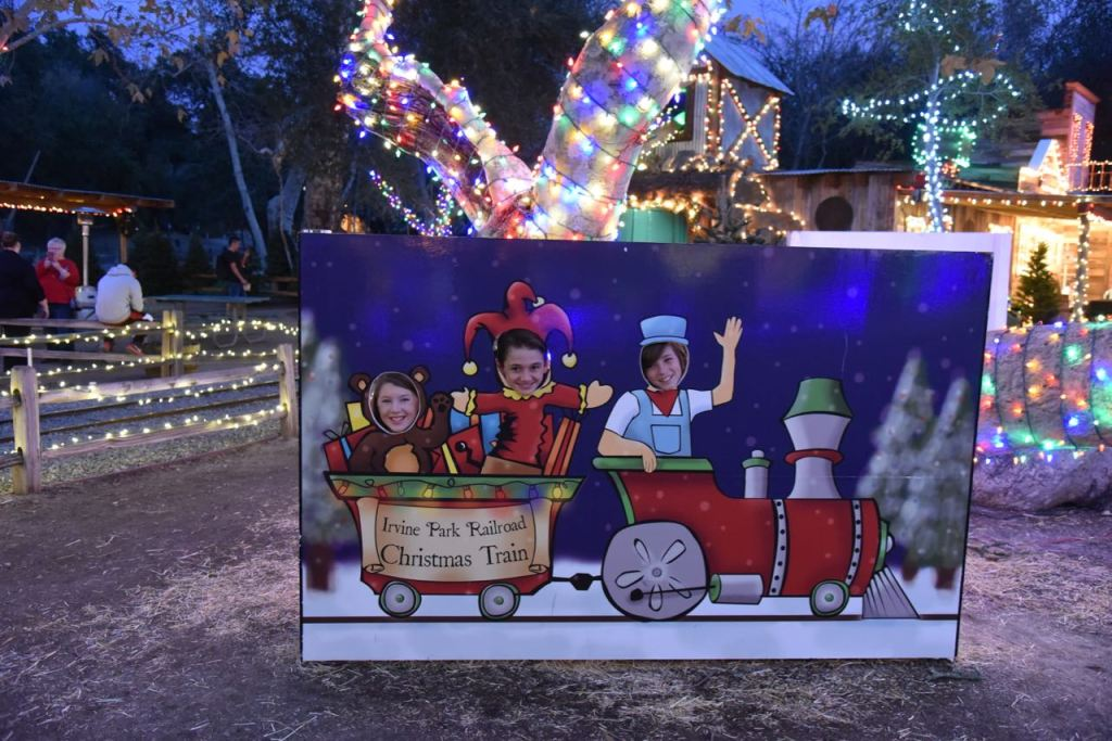 have fun creating holiday memories and starting new traditions at the irvine park railroad christmas train - Irvine Christmas Train